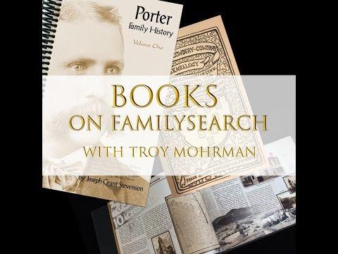 Books on FamilySearch - Troy Mohrman