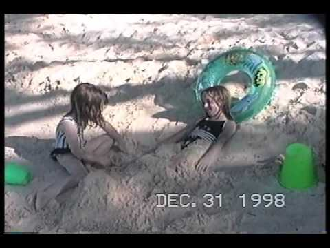 rum point beach, grand cayman with our girls 12-31-1998.wmv