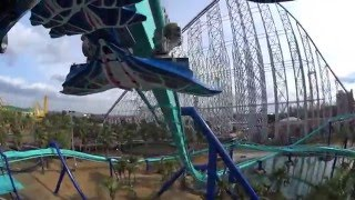 Acrobat Roller Coaster - Front Seat On-Ride POV - Nagashima Spa Land, Japan