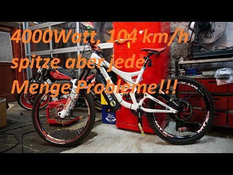 Downhill e-bike Umbau