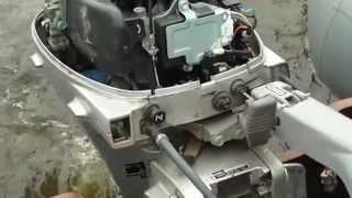 Установка и настройка мотора на надувной лодке .mp4