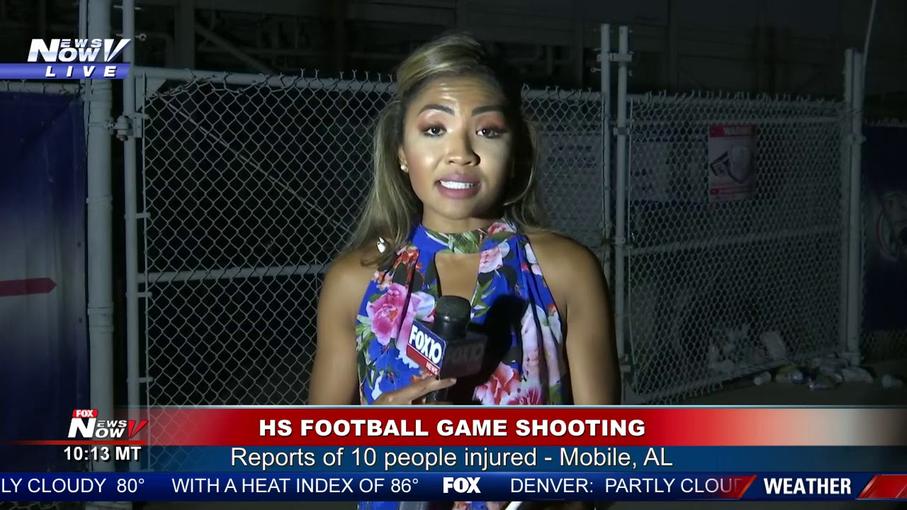 10 injured in shooting after high school football game in Alabama
