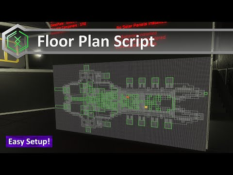 Space Engineers - Floor Plan Script