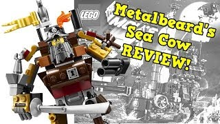 Lego Movie Metalbeard's Sea Cow 70810 Review