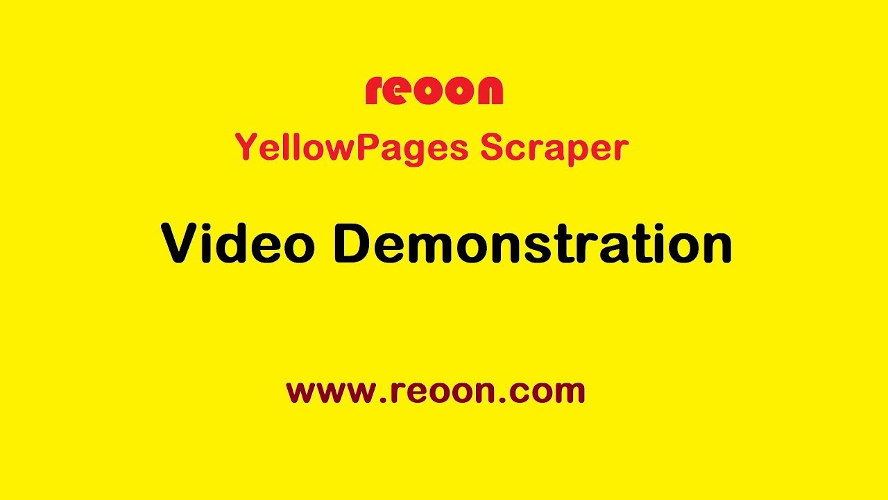 Reoon YellowPages Scraper (Free) - v2 3