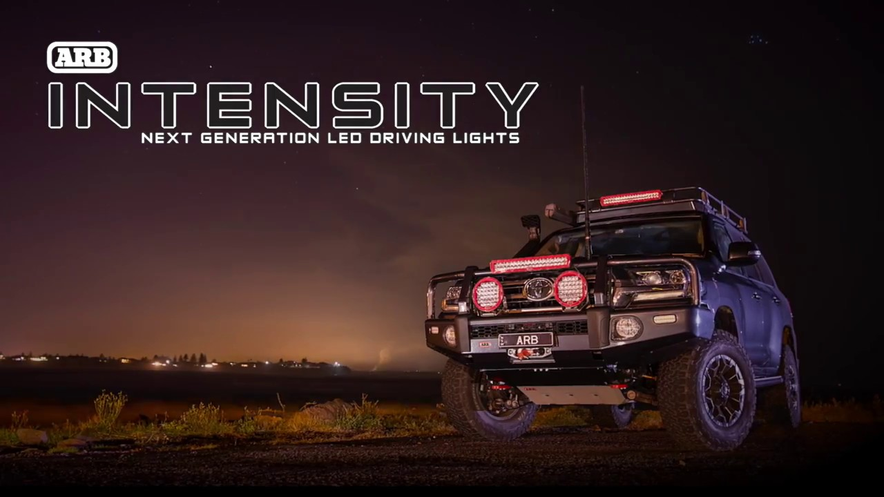 Arb Intensity Ar40 Light Bar Youtube Drives 10 Leds
