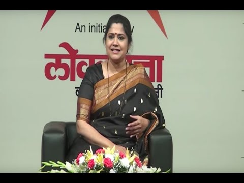 Actress Renuka Shahane at Loksatta Viva...