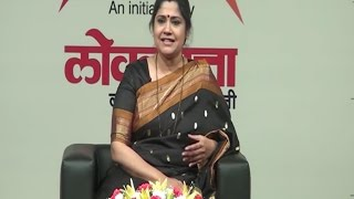 Actress Renuka Shahane at Loksatta Viva Lounge