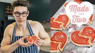 Love Heart Cookie Puzzle | Food Network