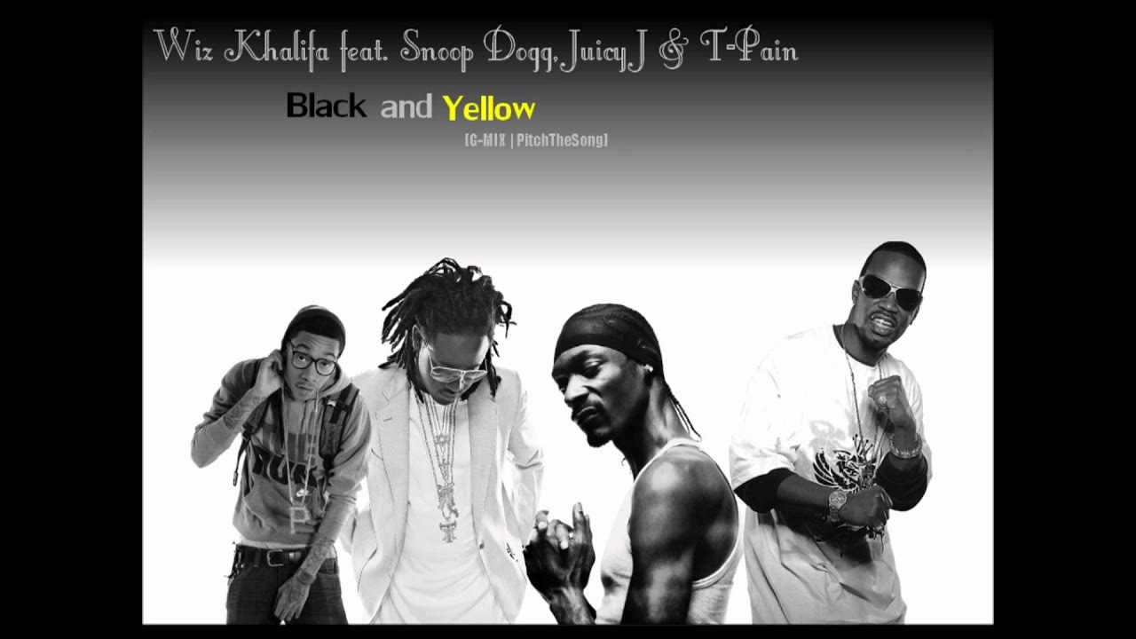 b35c91092c0 Wiz Khalifa feat. Snoop Dogg. Juicy J   T-Pain - Black And Yellow  G-MIX