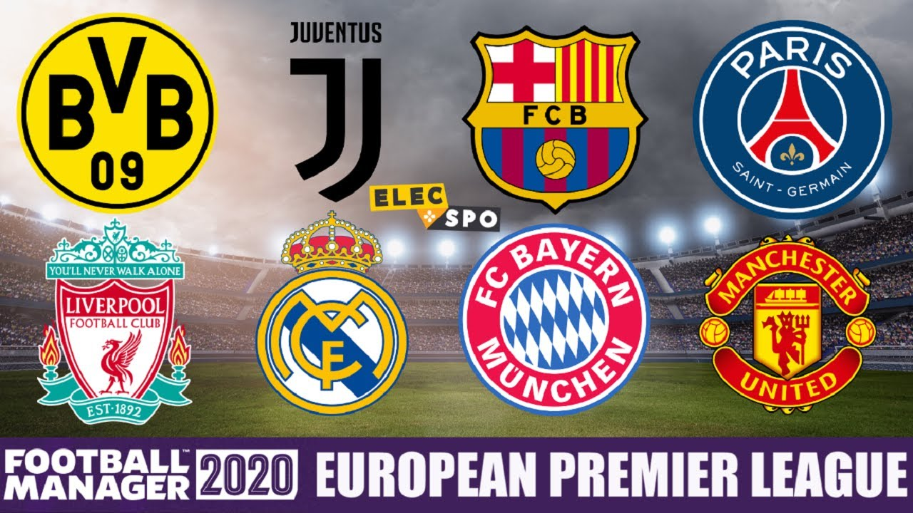 What If There Was A European Premier League? Football Manager 2020 Experiment