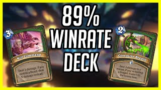 (Hearthstone) This Deck has a 89% Winrate | Aggro Hybrid Hunter