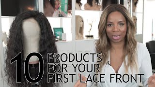 QUICK WIG TIP: 10 Products You Need for Your Lace Front Wig !! with Celebrity Stylist Kiyah Wright