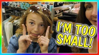 WHAT IS KAYLA TOO SMALL FOR? | SHE WON