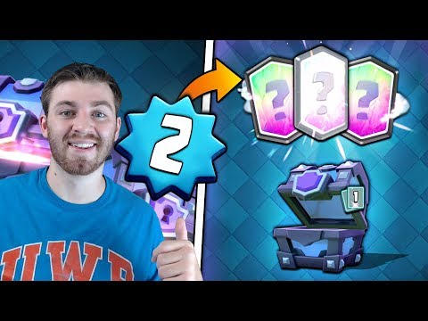 LEVEL 2 MASS SUPER MAGICAL CHEST OPENING! | Clash Royale | SUPER MAGICAL LEGENDARY HUNT