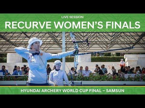Full session: Recurve Women's Finals | Samsun 2018 Hyundai Archery World Cup Final