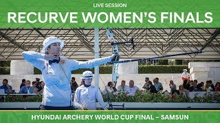 Full session: Recurve Women's Finals | Samsun 2018 Hyundai Archery World Cup Final