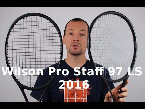4ac7fce79 Wilson Pro Staff 97 LS 2016 - Test par Team-Tennis.fr - YouTube