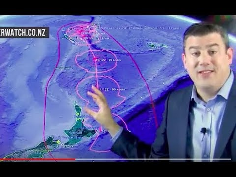 Cyclone Hola now Severe Category 4, threat to NZ Sunday/Monday (08/03/18)