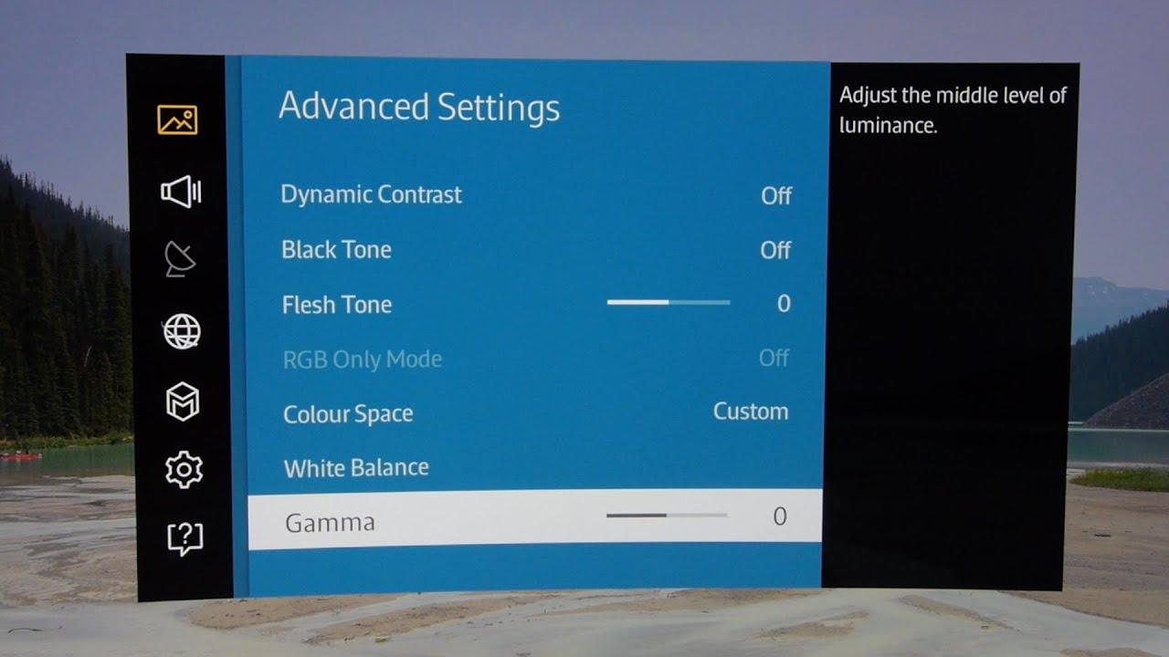 Samsung UE48JS9000 4K TV Picture Settings - YouTube