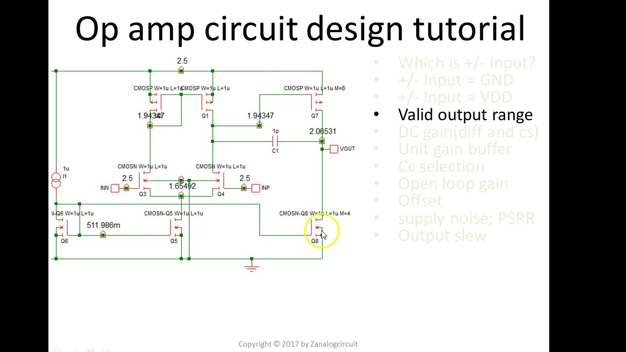 Op Amp Circuits Design Tutorial Not Lossing Wiring Diagram Opampcomparatorcircuit Opamp Circuit Youtube Rh Com Electronics