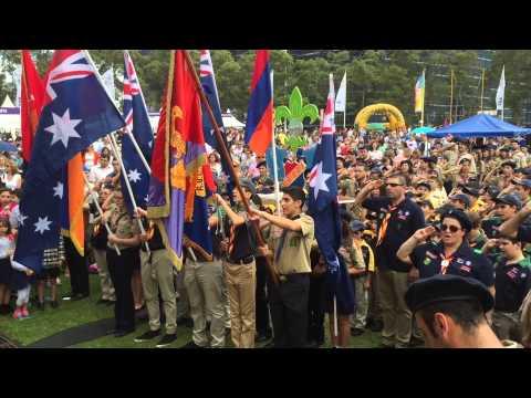 Armenian Festival 2015 (Sydney - Australia) - Homenetmen Australia Scouts Opening Ceremony
