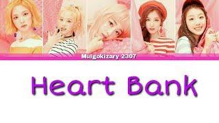 ELRIS(엘리스) - HEART BANK Lyrics [Color Coded_Han_Rom_Eng]