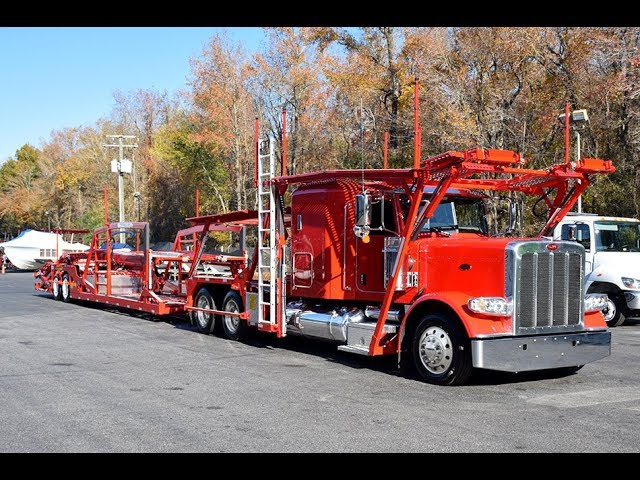 2018 Peterbilt 389 with Cottrell EZ-7509 – Stock#9179