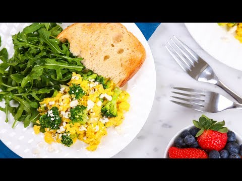 3 Healthy Scrambled Egg Recipes | Better Breakfasts