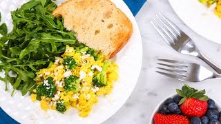 3 Healthy Scrambled Egg Recipes | Better Breakfasts thumbnail