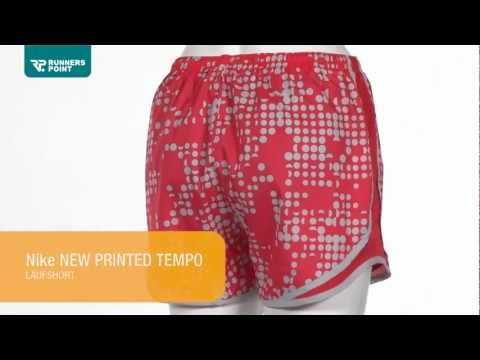 Nike New Printed Tempo Laufshort