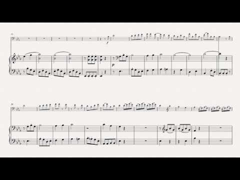 J. B. Vanhal - Concerto for DB (in Eb - tuning: G-C-F-Bb or F-Bb-Eb-Ab) (simplified Piano score)