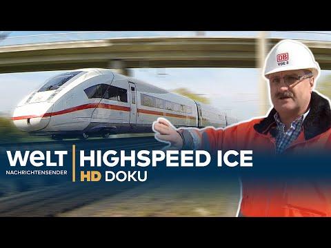 Der ICE der Deutschen Bahn - Highspeed auf Schienen | HD Doku