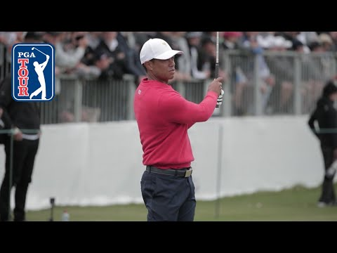 Tiger Woods' Range Session Before Sunday Singles At Presidents Cup 2019