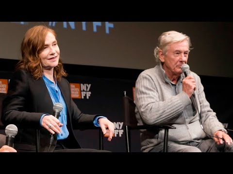 'Elle' Press Conference  Paul Verhoeven & Isabelle Huppert  NYFF54