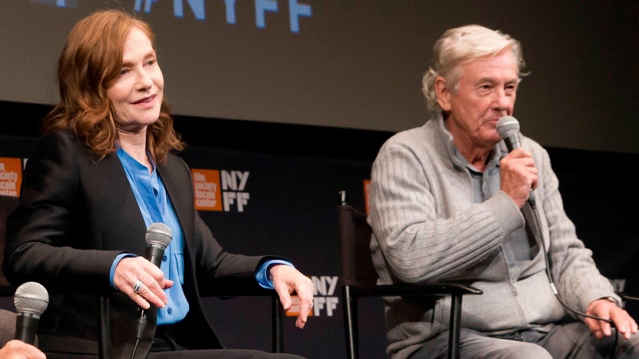 'Elle' Press Conference | Paul Verhoeven & Isabelle Huppert | NYFF54