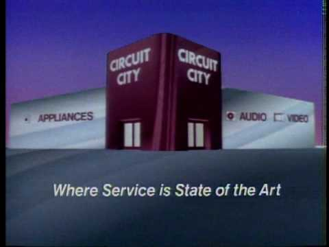 1992 Circuit City commercials from instore laserdisc