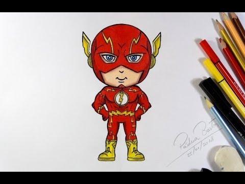 Como Desenhar O Flash Cartoon Super Facil 487 Youtube