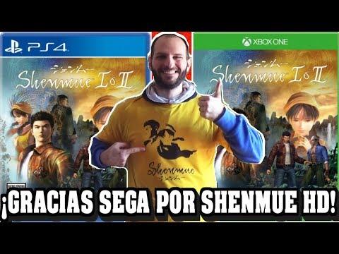 ¡SEGA ANUNCIA SHENMUE 1 Y 2 HD PARA PS4, XBOX ONE Y PC! - Sasel - Remaster - pack
