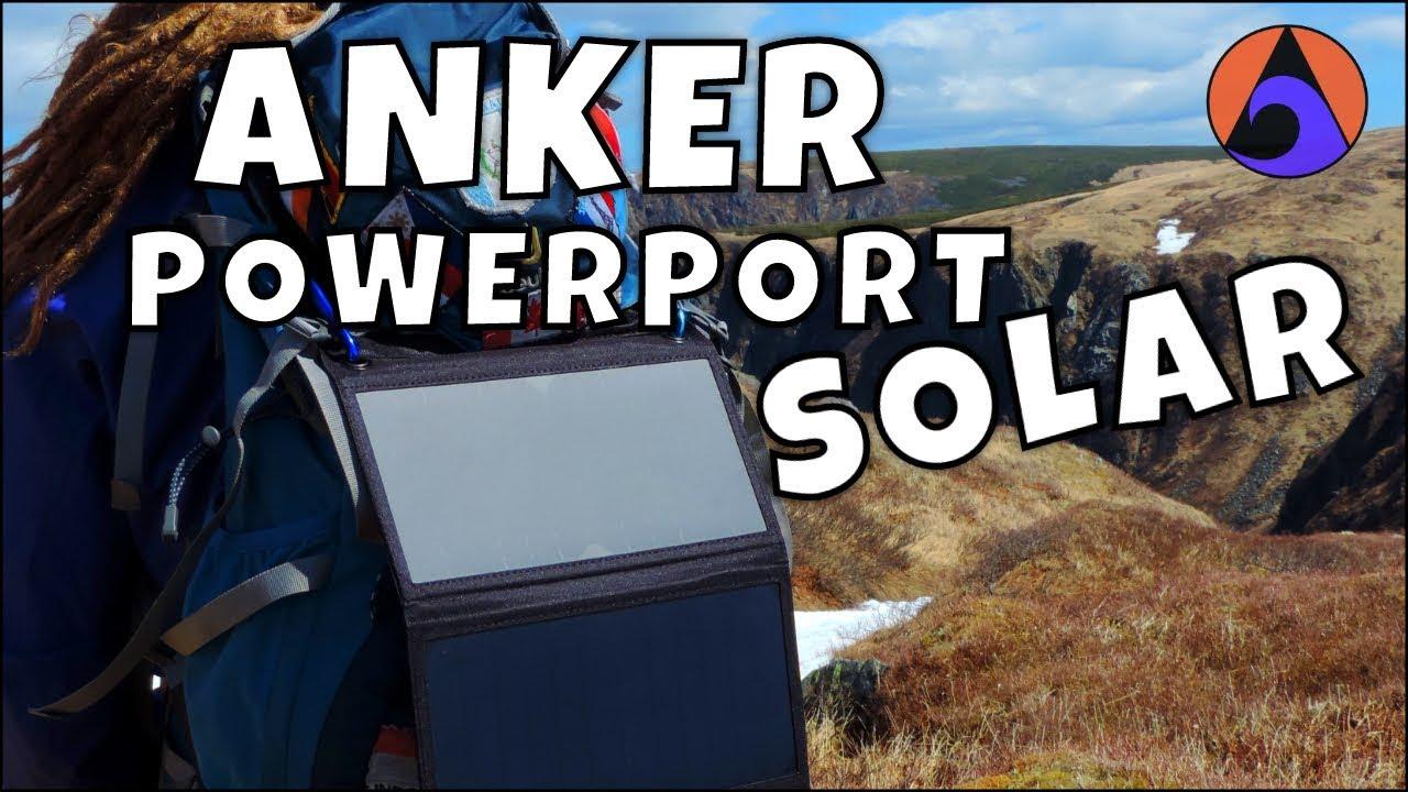 Best Backpacking Solar Panel! Anker Powerport [Review]