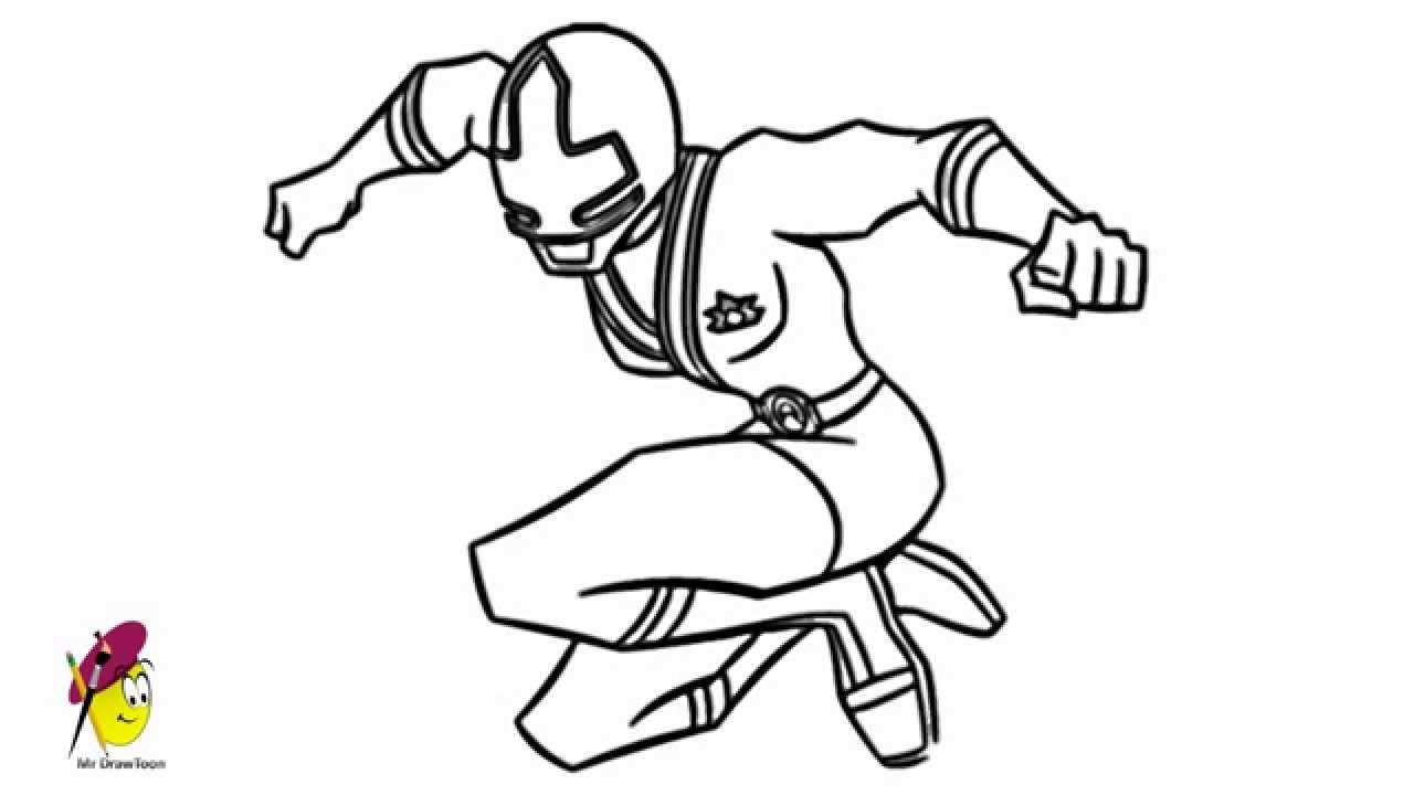 Power Rangers Mega force  How to draw Power Rangers  YouTube