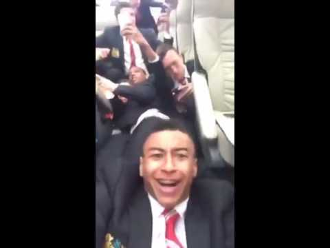 Man Utd Team Bus Attack (West Ham) - Lingard Footage From Bus