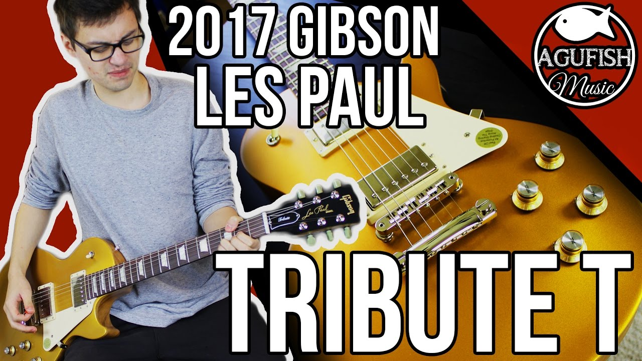 gibson les paul tribute 2017 t demo is gibson finally back youtube. Black Bedroom Furniture Sets. Home Design Ideas