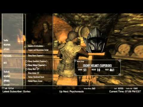 Skyrim - No Stone Unturned Completed!