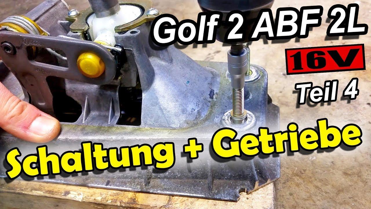 golf 2 abf 2l 16v teil 4 schaltung getriebe youtube. Black Bedroom Furniture Sets. Home Design Ideas