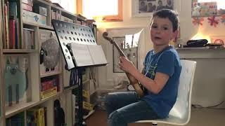 Paul übt das neue Stück / Klasse: Letzbor Gunar