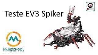 LEGO Spiker EV3 - Robótica