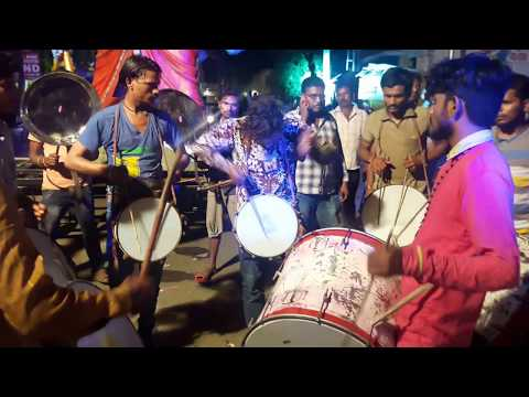 Ganesh Nimajjanam Band 2017 l Bombay Ganesh Idol l Teenmaar Dance at Ganesh Shobha Yatra 2017