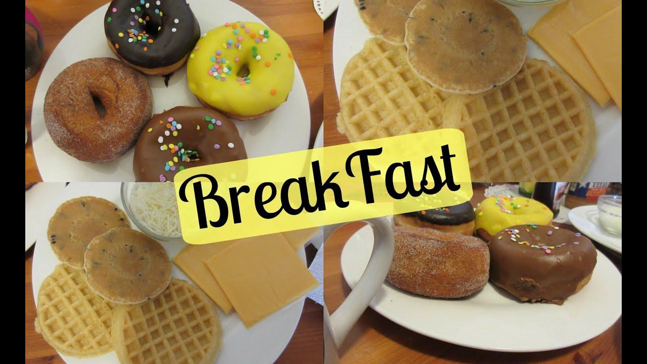 Aparador Gris Envejecido ~ Café da Manh u00e3 nos Estados Unidos {BreakFast} YouTube