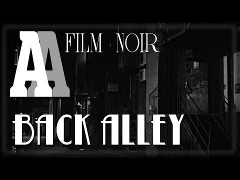 Back Alley - 1hr Film Noir Ambient Sound & Visuals